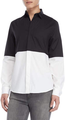 Bikkembergs Two-Tone Sport Shirt