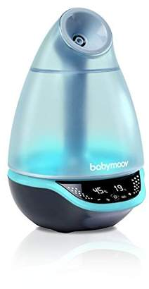 Babymoov Hygro Plus Cool Mist Humidifier with Programmable Humidity Control, Timer, Night Light, and Essential Oil Diffuser