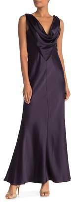 Marina Sleeveless Cowl Back Gown
