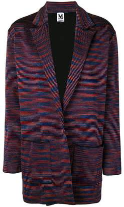 M Missoni striped blazer