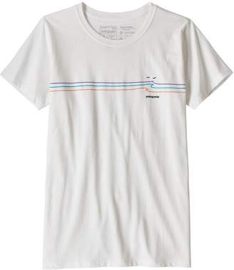 Patagonia Women's Tide Ride Organic Cotton Crew T-Shirt