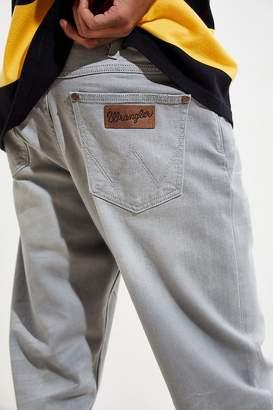 Wrangler Tapered Slider Ash Grey Slim Jean