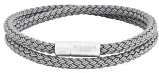 Tateossian Rubber Cable Wrap Bracelet