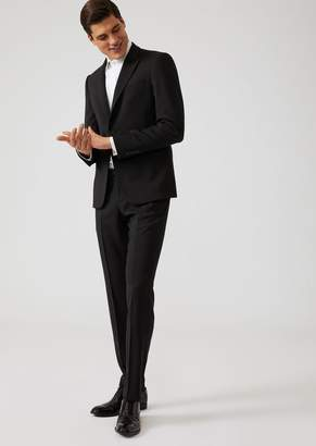 Emporio Armani Slim Fit Tropical Wool Tuxedo