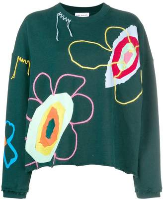 Mira Mikati embroidered sweatshirt