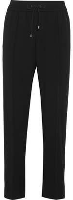 Kenzo Striped Crepe Track Pants - Black
