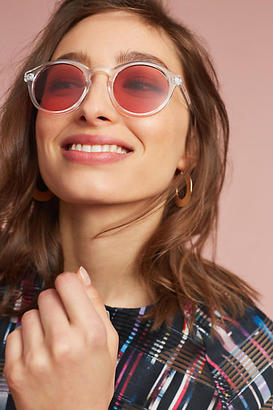 Anthropologie Primary Colored Sunglasses $38 thestylecure.com