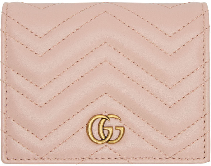 GucciGucci Pink Marmont Wallet