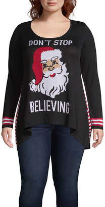 Unity World Wear Unity One World Santa Pullover Sweater - Plus