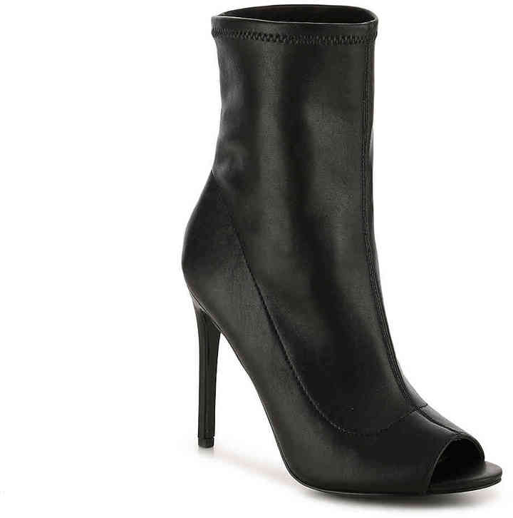 Aldo Women's Eliane Bootie -Black Leather
