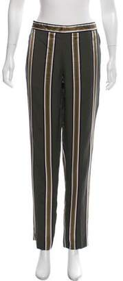 Theory Striped Cropped Pants
