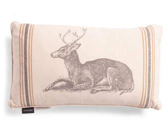 14x24 Reversible Sitting Deer Pillow
