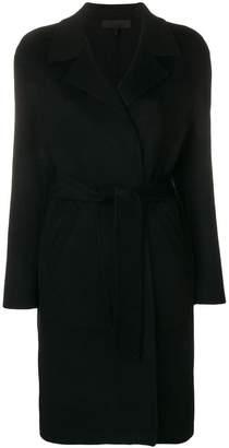 Rag & Bone belted single breasted coat