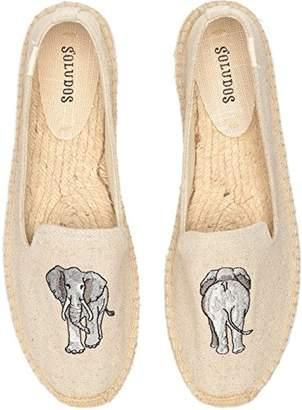Soludos Women's Elephant Smoking Slipper Flat