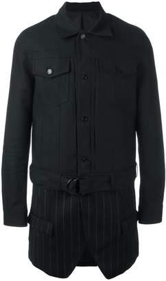 Juun.J layered shirt jacket