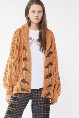 Urban Outfitters December Toggle-Front Cardigan