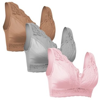 Shear Control Set of 3 Rhonda Shear Pinup Lace Bras