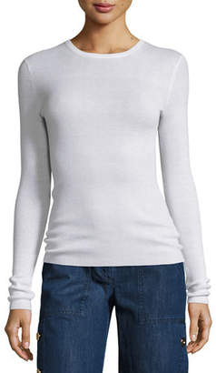 Michael Kors Long-Sleeve Cashmere Sweater