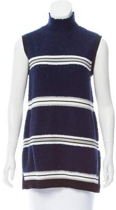 Derek Lam Striped Bouclé Top