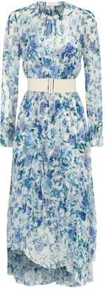 Zimmermann Chiffon Floral Dress