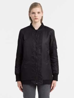 Calvin Klein logo bomber jacket