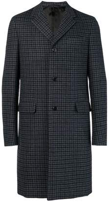 Prada checked coat