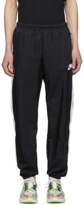 Nike Black and White Woven NSW Lounge Pants