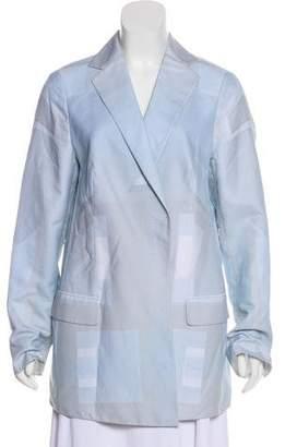 Akris Notch-Lapel Long Sleeve Blazer