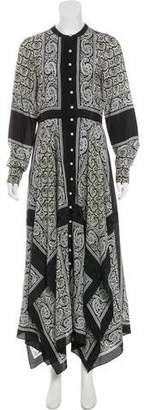 Altuzarra Silk Paisley Dress