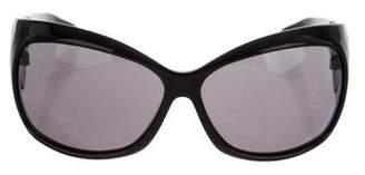 Alexander McQueen Square Tinted Sunglasses