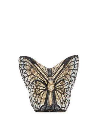 Judith Leiber Couture Monarch Crystal-Studded Butterfly Clutch Bag