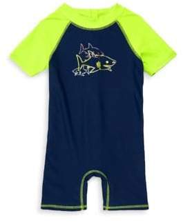 Floatimini Baby Boy's One-Piece Shark Swimsuit