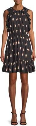 Kate Spade Pineapple-Print Shift Dress