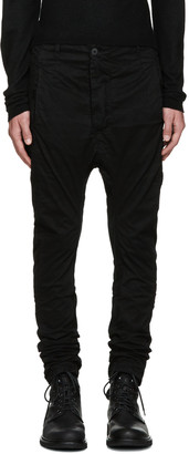 11 by Boris Bidjan Saberi Black Dye Trousers $510 thestylecure.com
