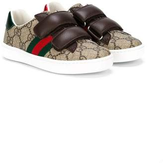 Gucci Kids GG Supreme Web sneakers