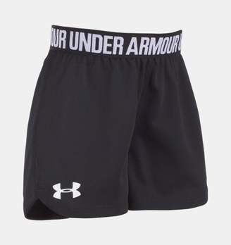Under Armour Girls' Pre-School UA Play Up Shorts