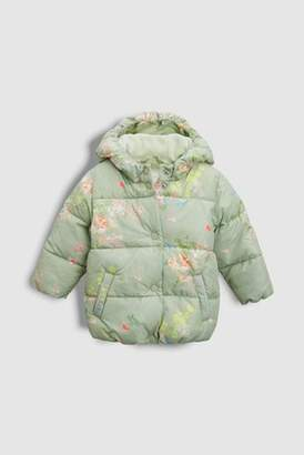 Next Girls Floral Print Padded Jacket (3mths-6yrs)