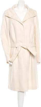 Burberry Wool Belted Coat $535 thestylecure.com