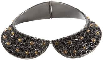 Louis Vuitton Black Metal Necklace