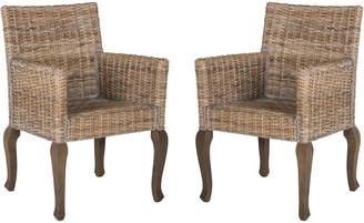Safavieh Armando 18''H Wicker Dining Chair