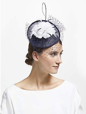2aec202bffa3a John Lewis   Partners Camille Disc Feather Veil Fascinator