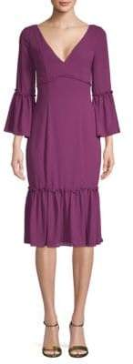 LIKELY Laurelwood Bell-Sleeve Dress