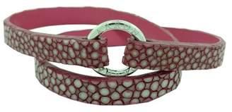 Aaron Basha Fuchsia Stingray Bracelet