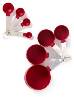 Core Home Everyday Pomegranate Measuring 8-Piece Set