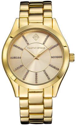 Timothy Stone Women's 'Charme' Crystal Embellished Boyfriend Bracelet Watch