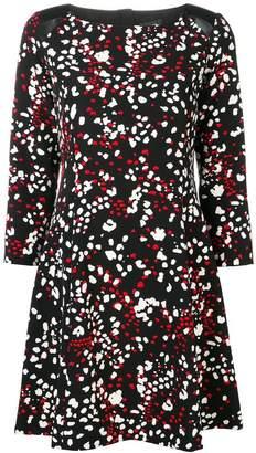 Liu Jo spotted midi dress