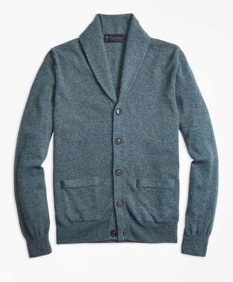 Brooks Brothers Cashmere Shawl-Collar Cardigan