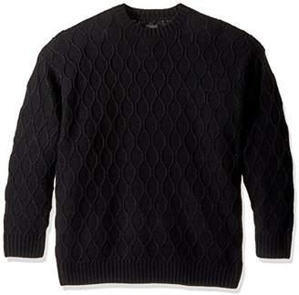 Obey Men's Calafia Oversize Crew Neck Sweater