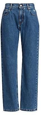 MSGM Women's Straight Leg Jeans