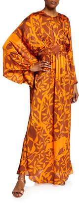 Johanna Ortiz Vine Print Caftan Gown